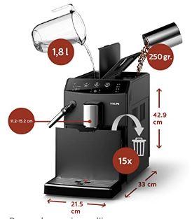 machine à café à grains philips hd8827