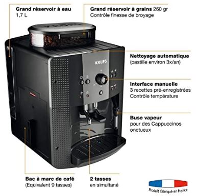 machine a café à grains krups YY8125FD